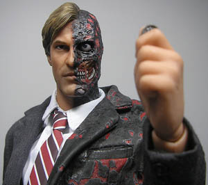 two face heads or tails